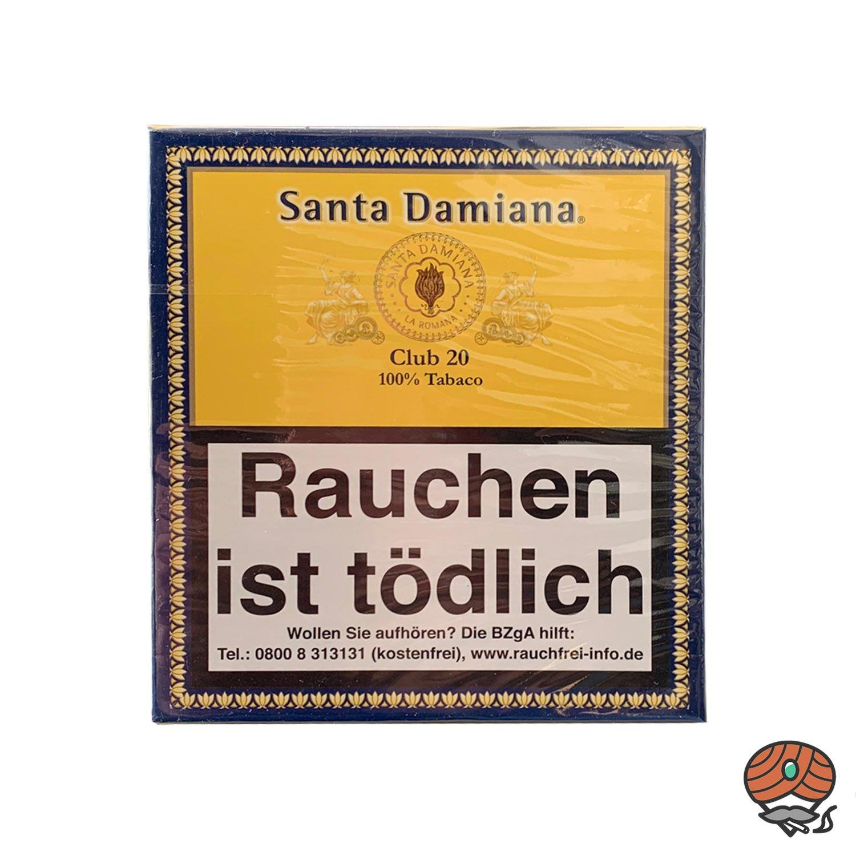 Santa Damiana Club 20 Zigarren / Zigarillos Dominikanische Republik