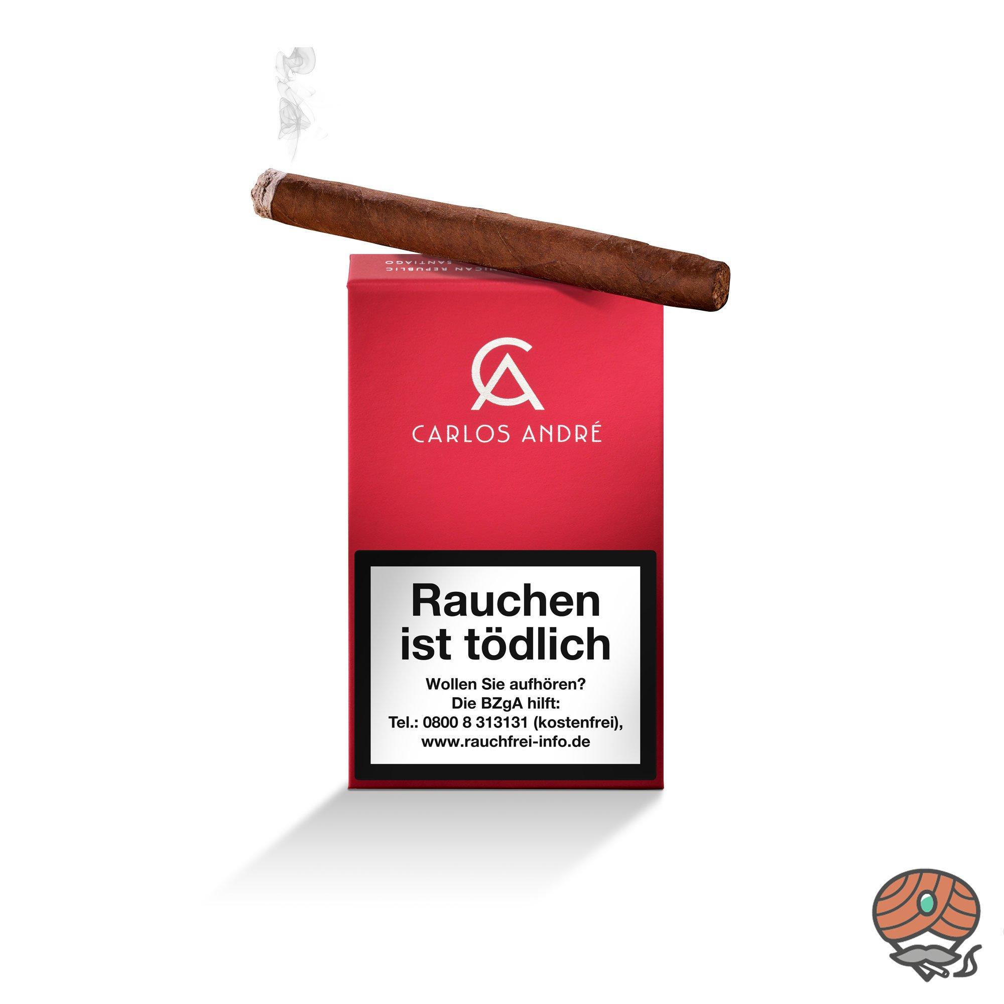 Carlos André Red Club Zigarillos 100% Tabak Nr. 491