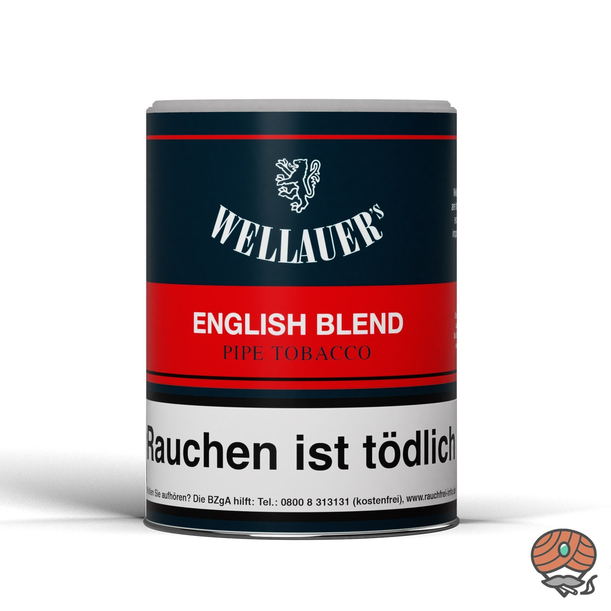 Wellauer´s English Blend Pfeifentabak 200g Dose