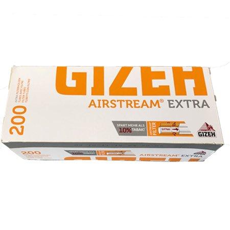 Gizeh Airstream Extra Filterhülsen, 200 Stück