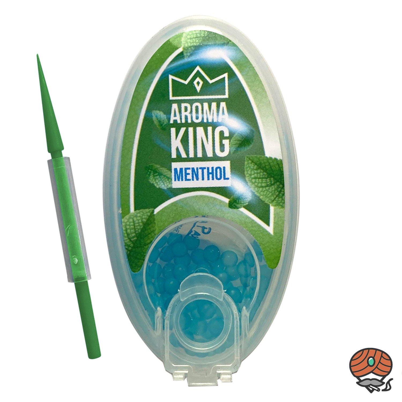 Aroma King Aromakapseln für Filterzigaretten - MENTHOL Dose à 100 Kapseln