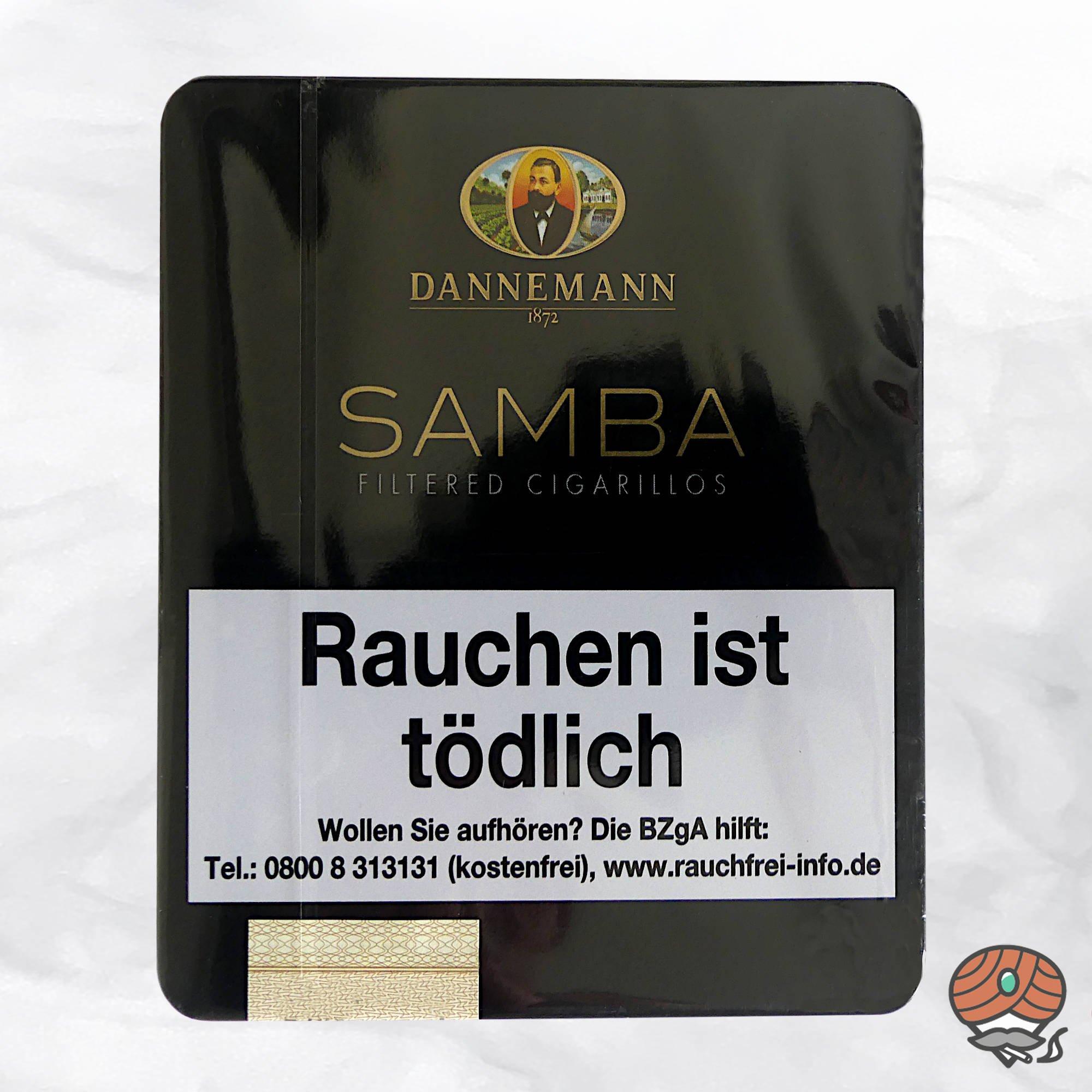 Dannemann Samba Filter Zigarillos 10 Stück