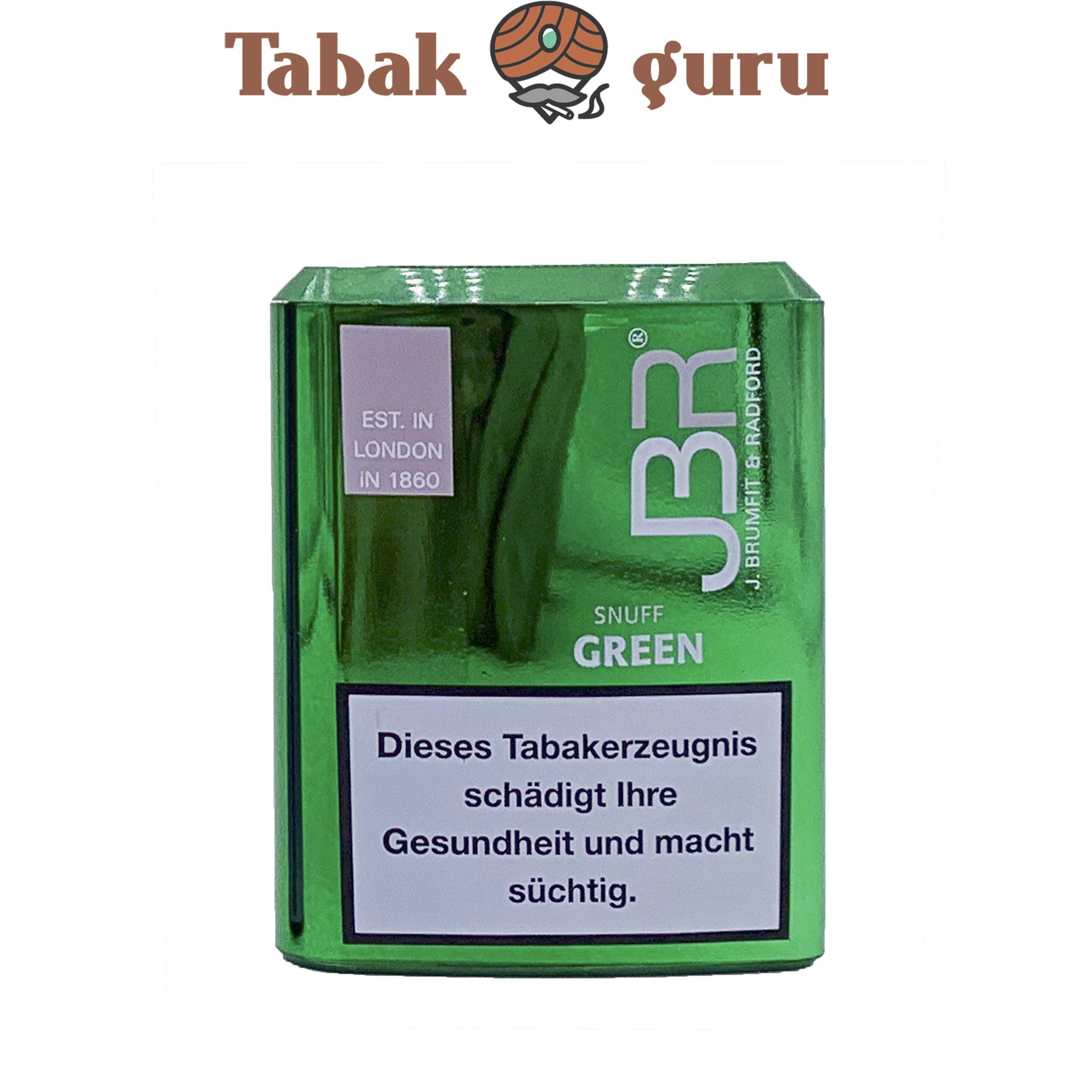 JBR Green / Wintergreen Snuff Schnupftabak von Pöschl