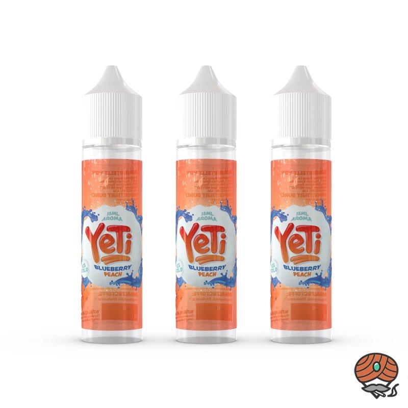 3 x YeTi Longfill Aroma Blueberry Peach 15 ml