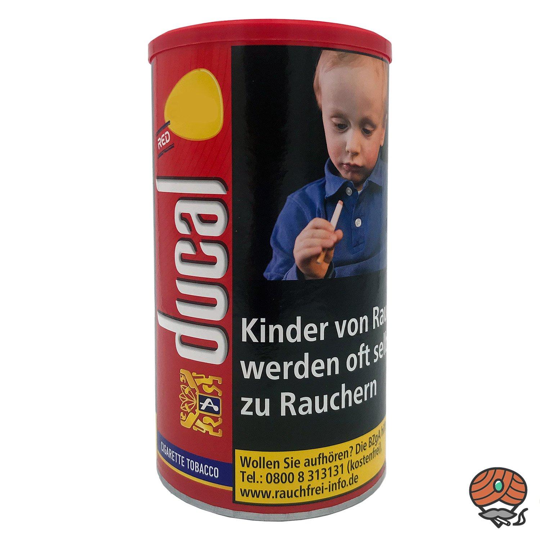 Ducal Red / Rot Feinschnitt-Tabak / Zigarettentabak 200 g Dose
