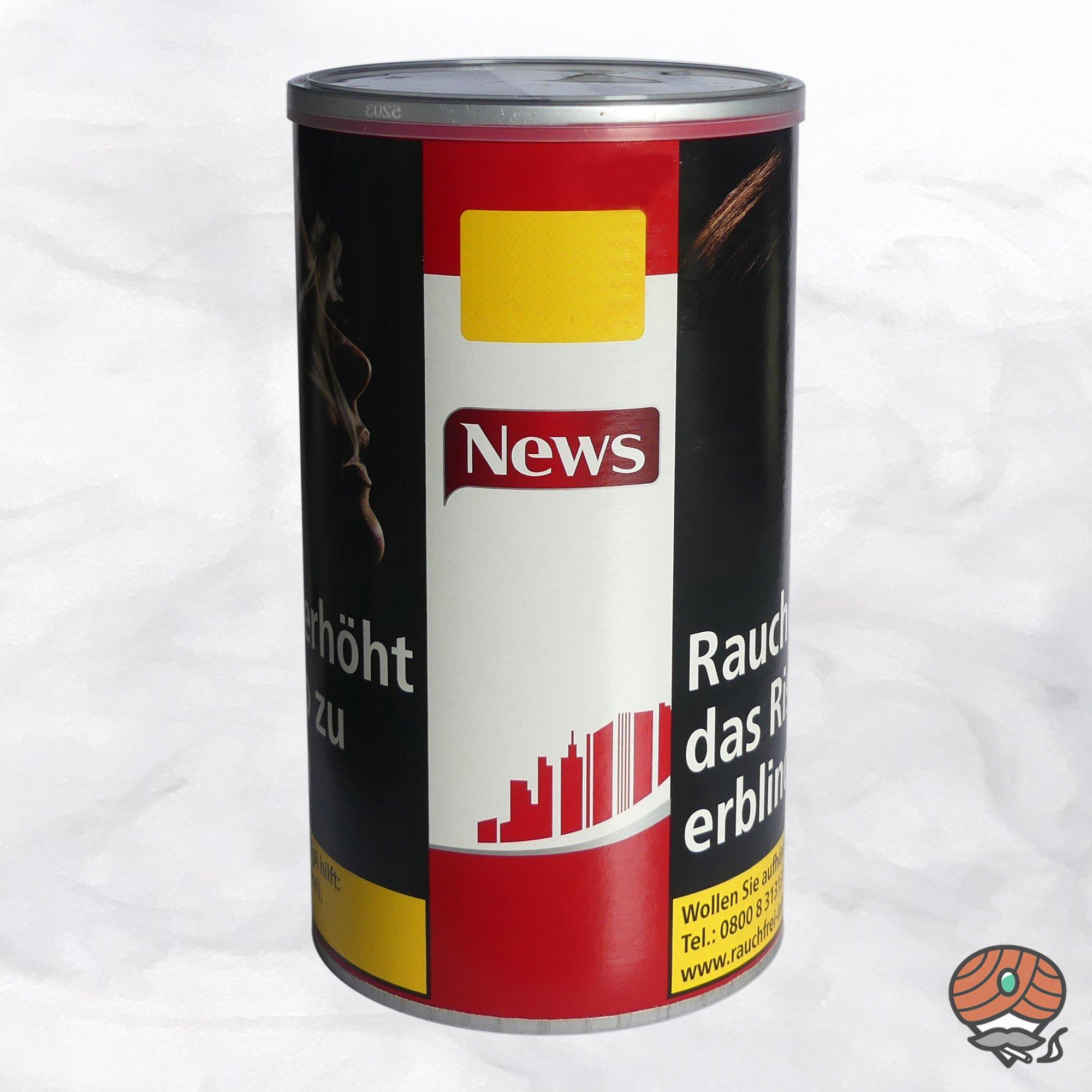 News Red / Rot Volumentabak / Stopftabak 75 g Dose