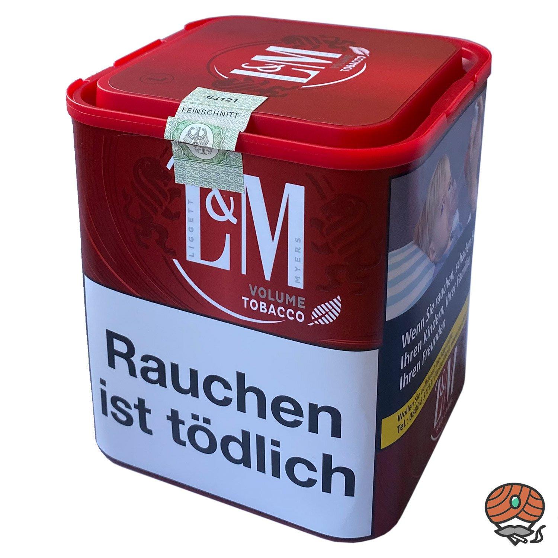 L&M Volume Tobacco Red / Rot L Zigarettentabak / Volumentabak 95g Dose