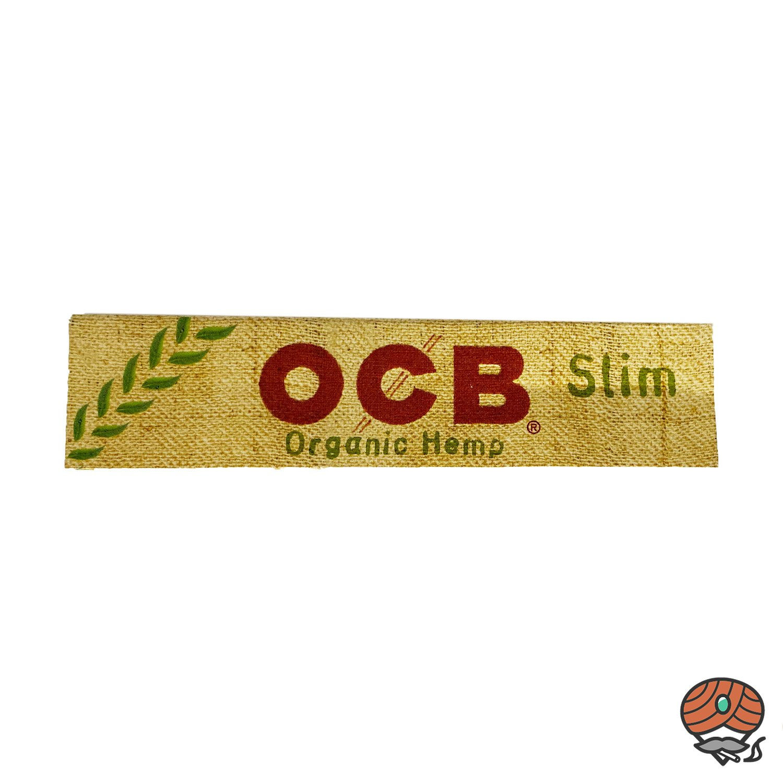 OCB Organic Hemp Slim Paper ungebleicht 1 Heft á 32 Blatt