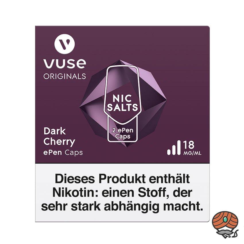 Vuse ePen Caps 1x Dark Cherry 18 mg/ml à 2 Caps (ehem. Vype ePen3)