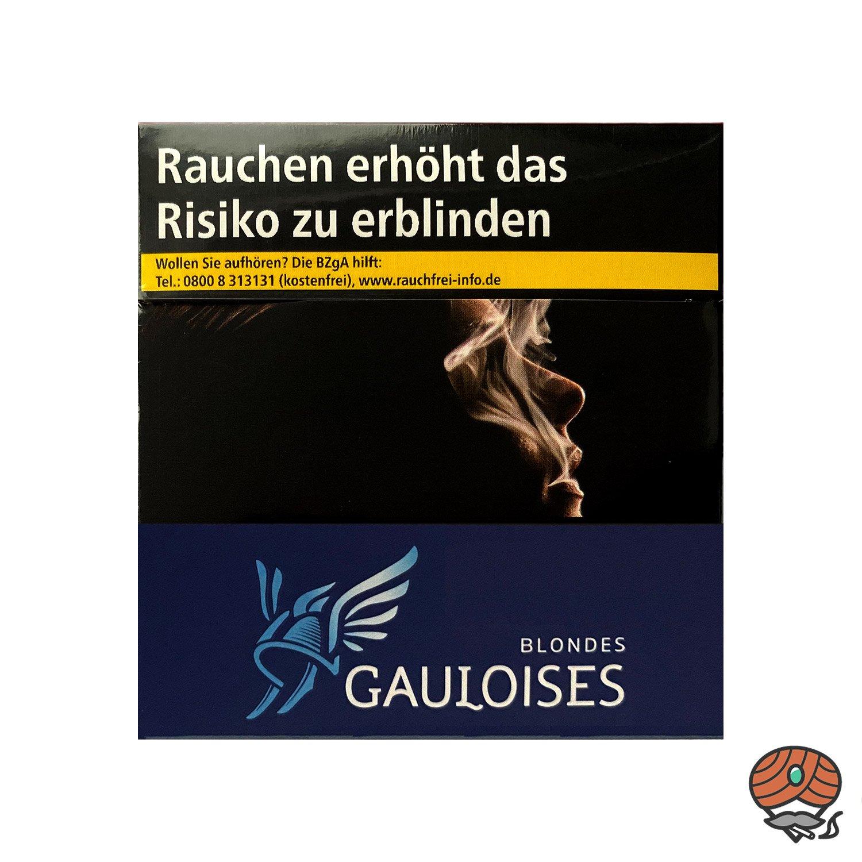 6 x Gauloises Blondes Blau Zigaretten à 49 Stück