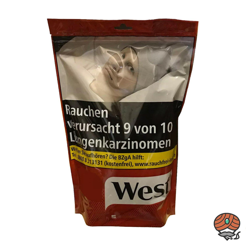 West Red / Rot 200 g Volumentabak Beutel