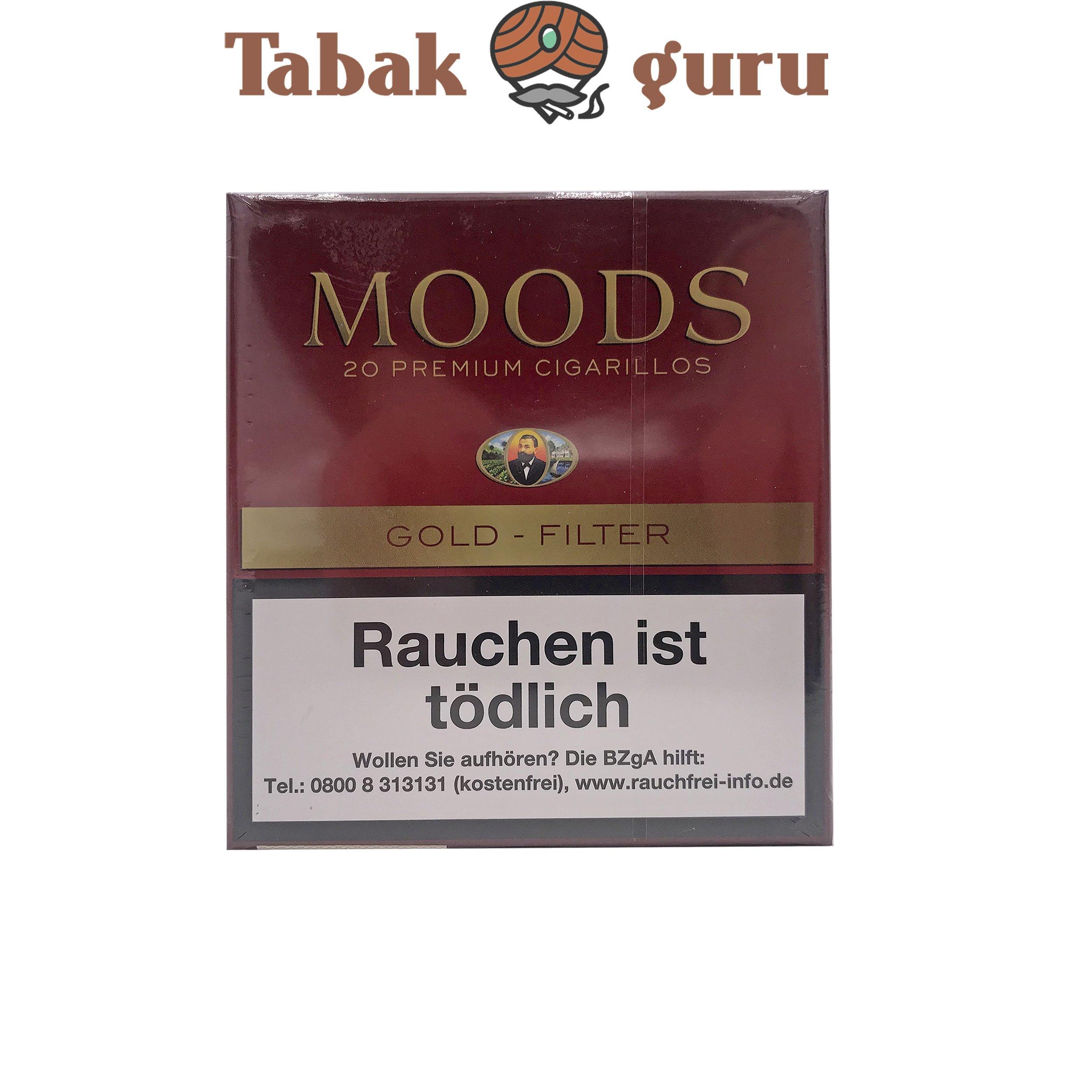 Moods Gold Filterzigarillos a 20 Stück