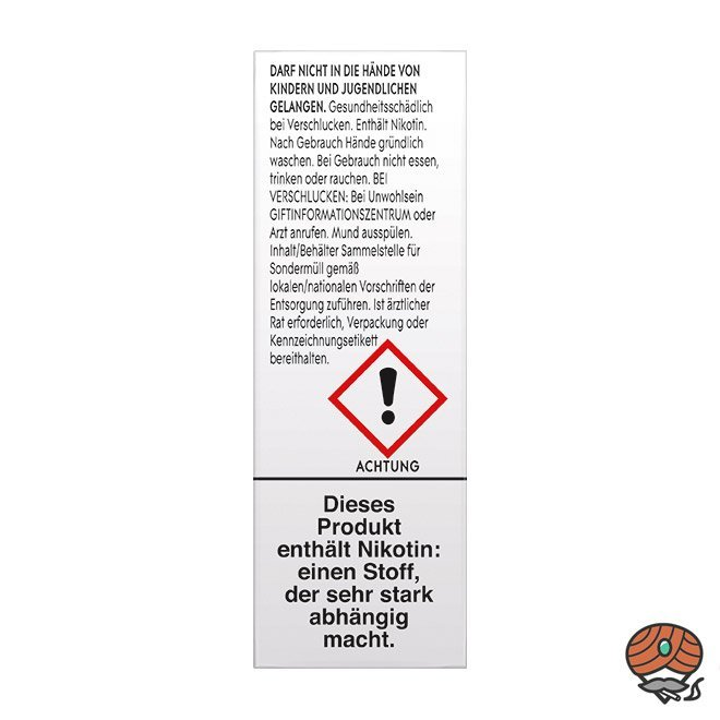 Vuse eLiquid Bottle Rich Tobacco 18 mg/ml NIC SALTS (ehem. Vype Intense Tobacco)