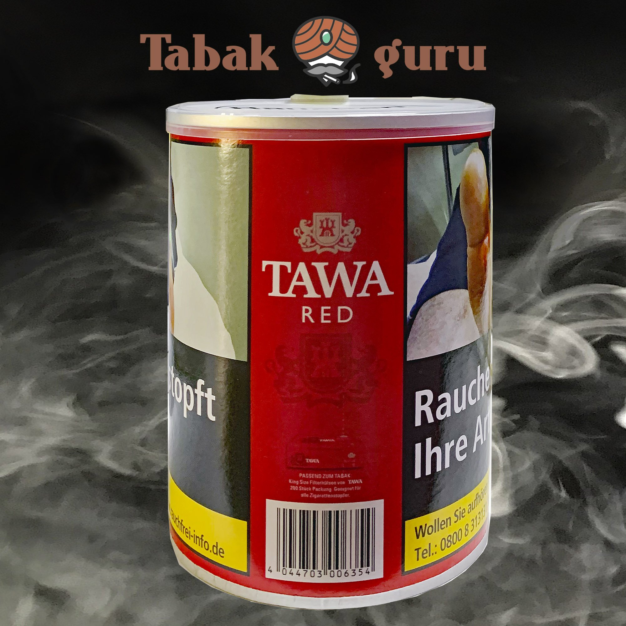 Tawa Red American Blend Zigarettentabak 140g Dose