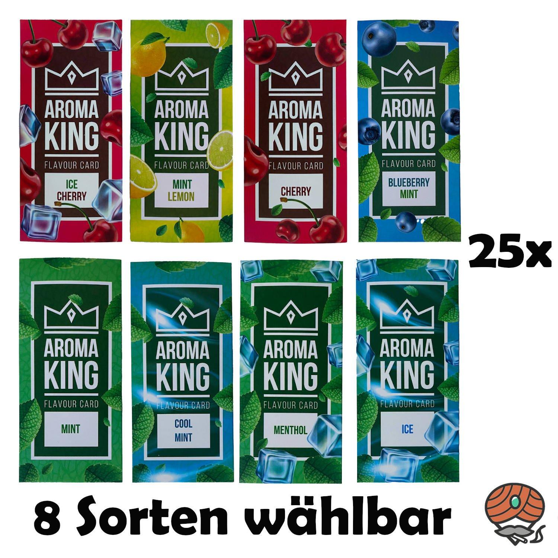 25 Aromakarten von Aroma King - alle Sorten wählbar - Aroma für Tabak & Zigaretten