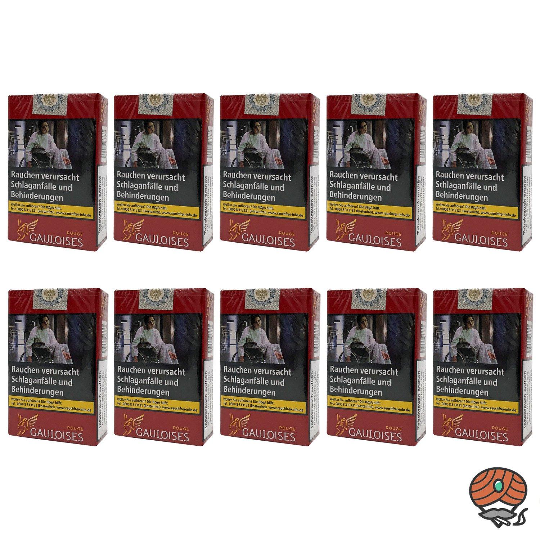 1 Stange Gauloises Rouge / Rot Zigaretten Softpack OP 10x20 Stück