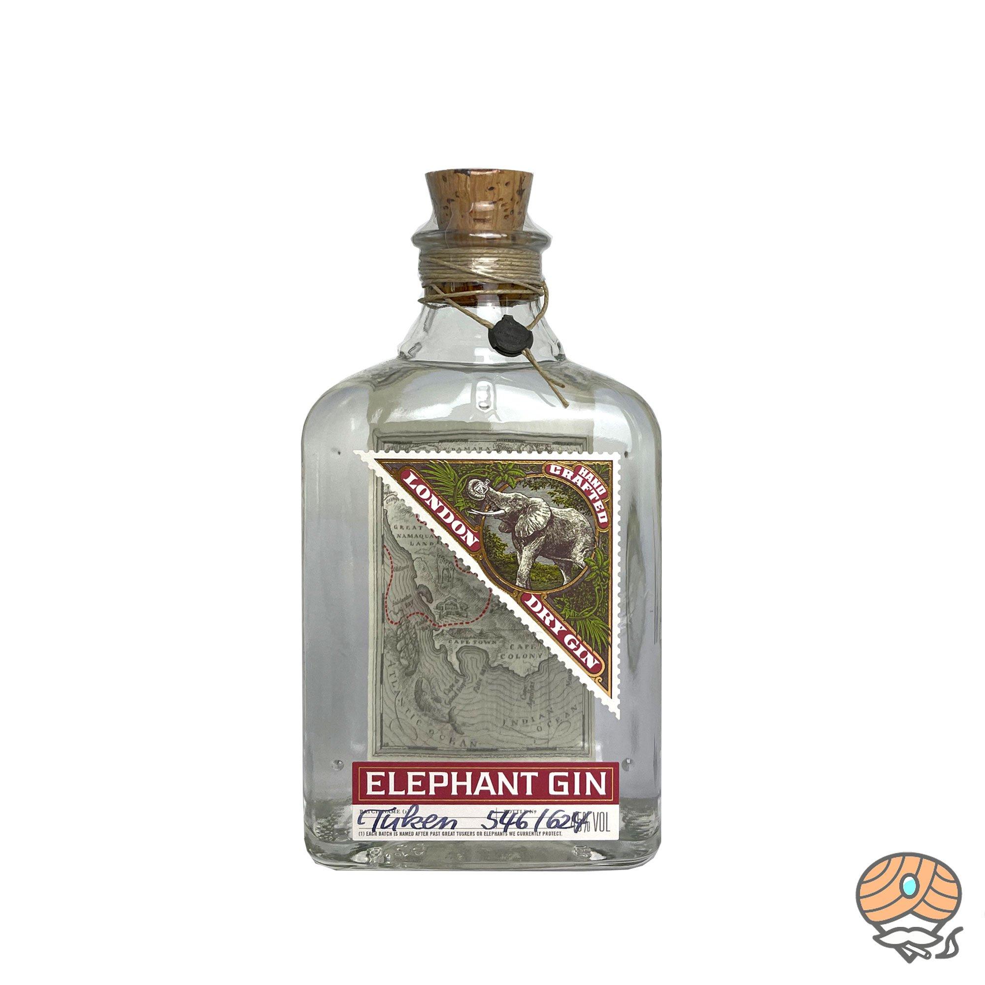 Elephant Handcrafted London Dry Gin Inhalt 500ml, 45% Vol alc.