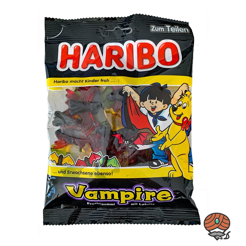 Haribo Vampire Fruchtgummi mit Lakritz 200g
