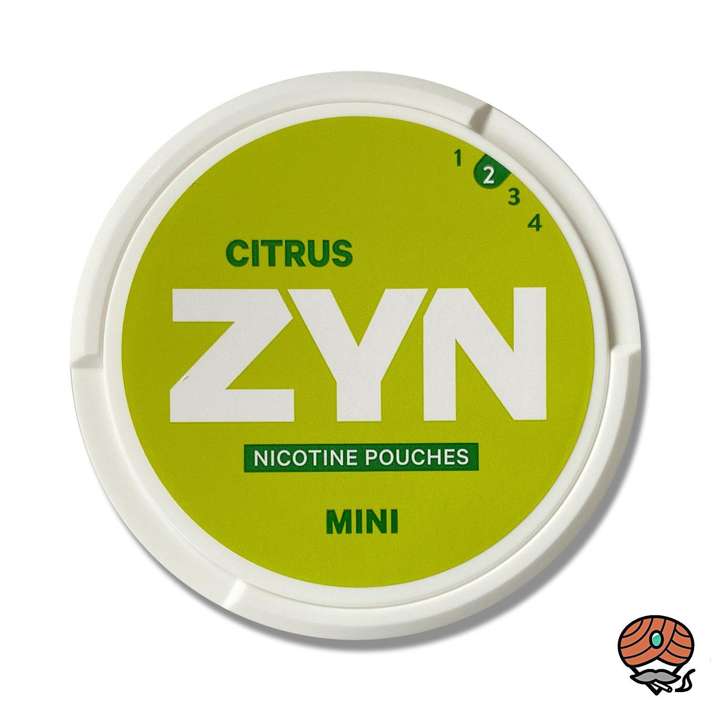 ZYN Citrus MINI - Nikotin / Nicotine Pouches