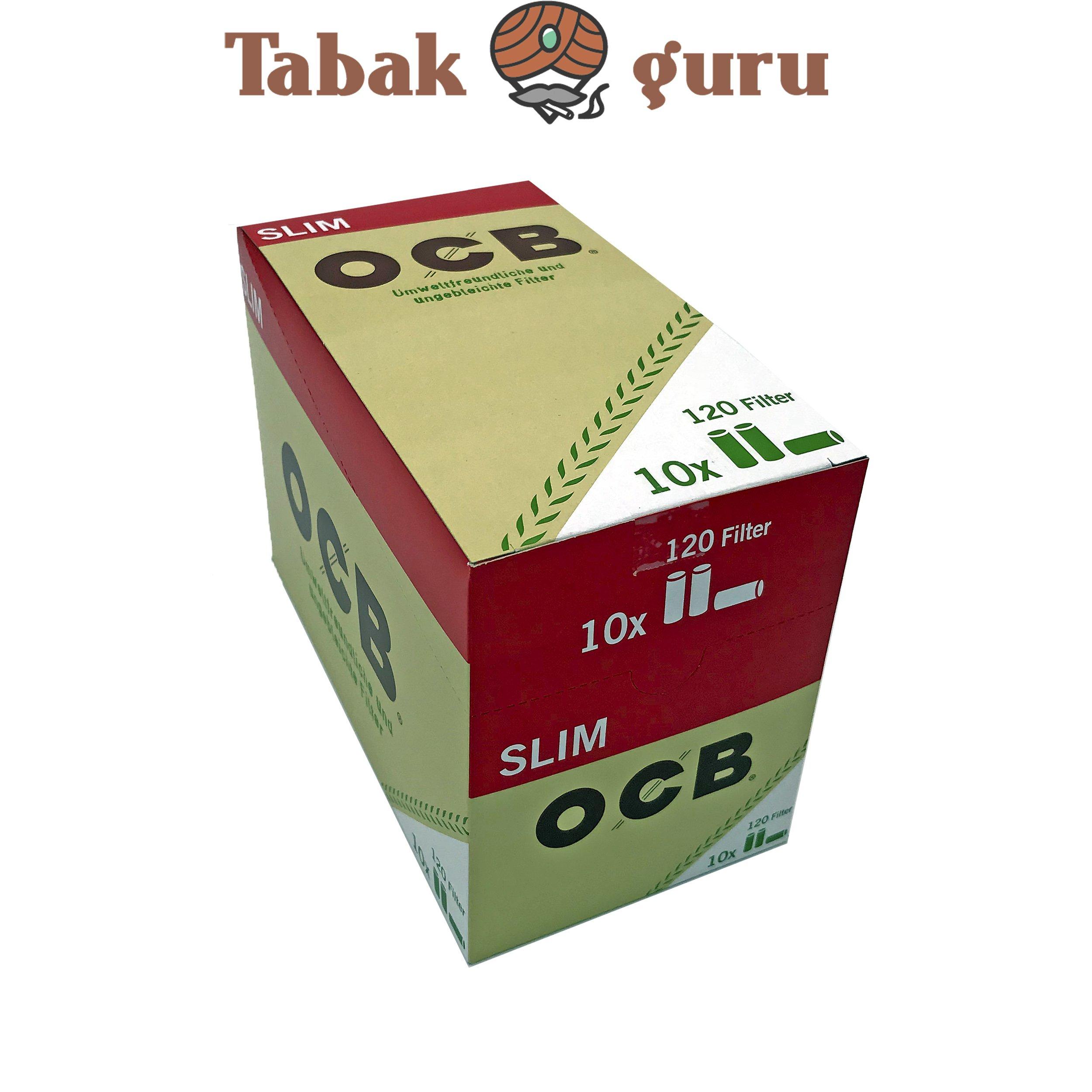 OCB Organic Slim Filter 10x 120 Stück