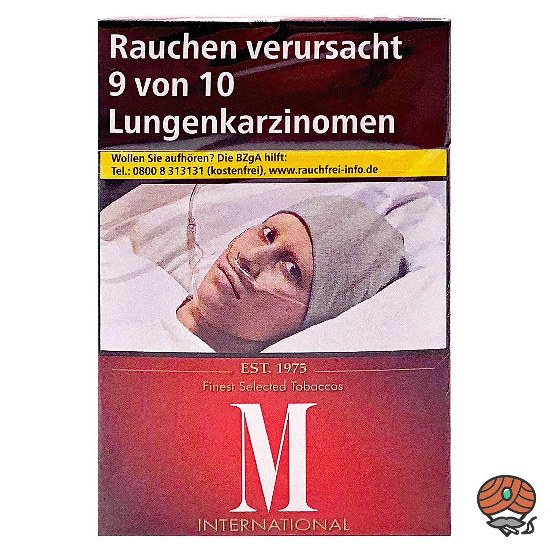 M Classic International Zigaretten 100er Format OP 20 Stück