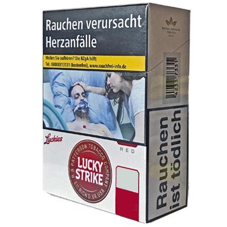 Lucky Strike Original Red Zigaretten XXL Schachtel Inhalt 24 Stück