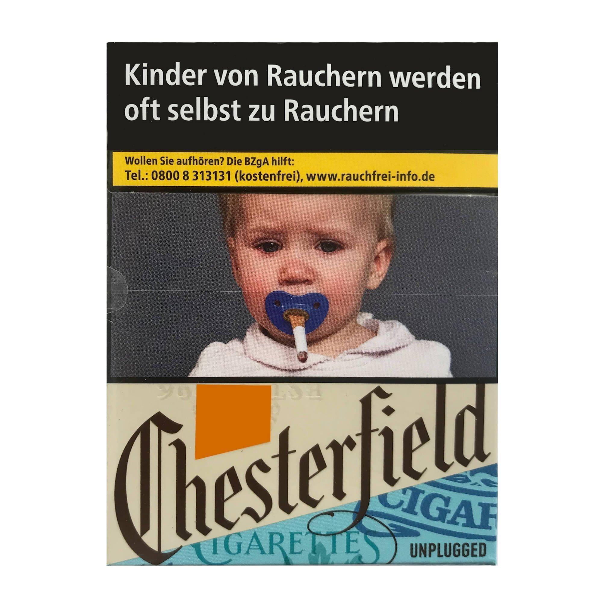 Chesterfield Unplugged Blue Zigaretten XL Schachtel à 22 Stück