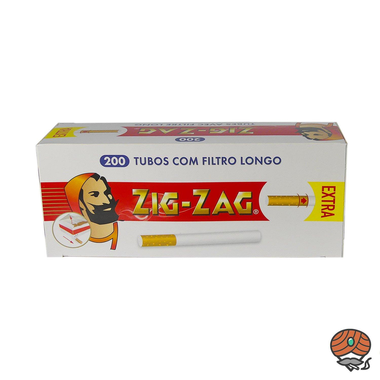 Zig-Zag Extra Filterhülsen 200 Stück