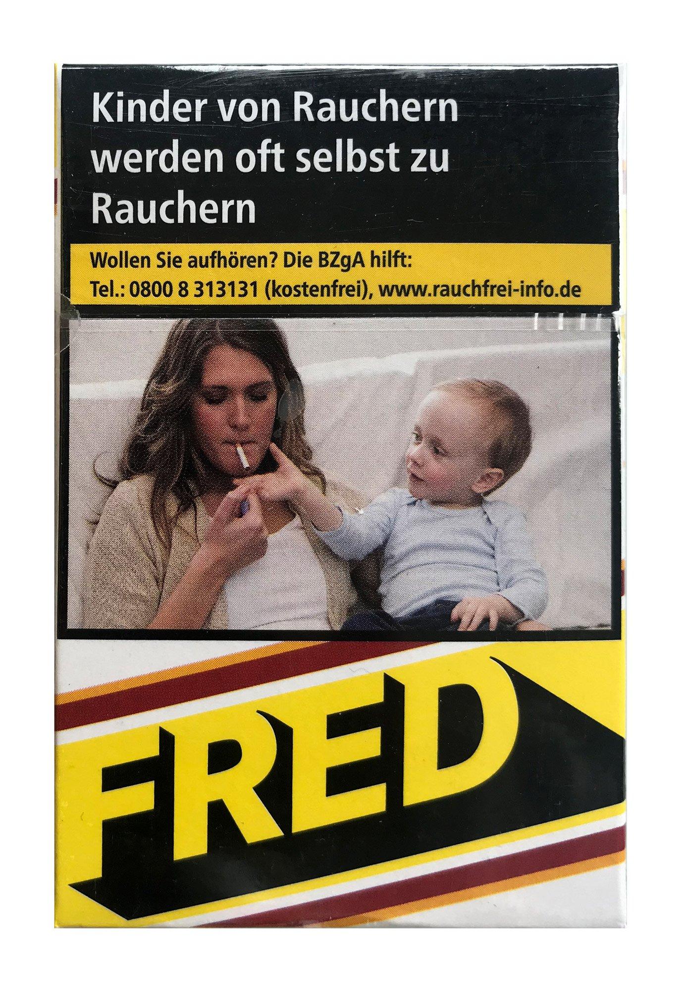 Fred Jaune Zigaretten Inhalt 20 Stück