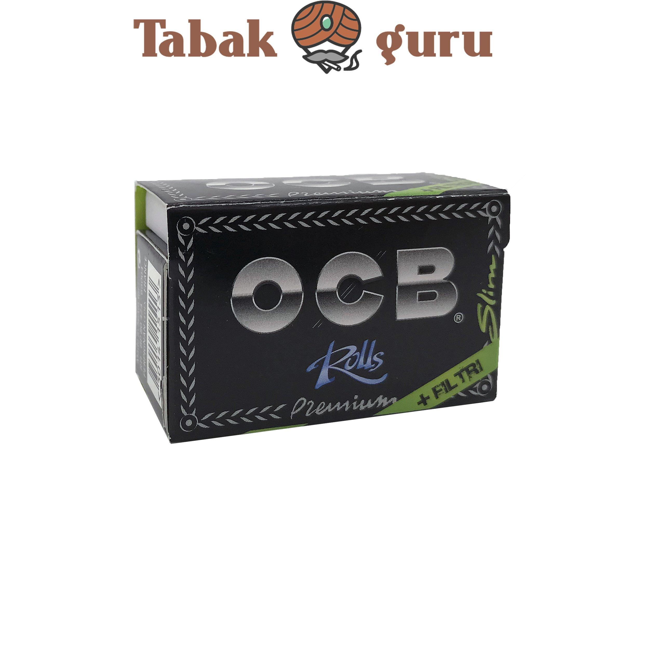 OCB Premium Roll + Filter Schwarz