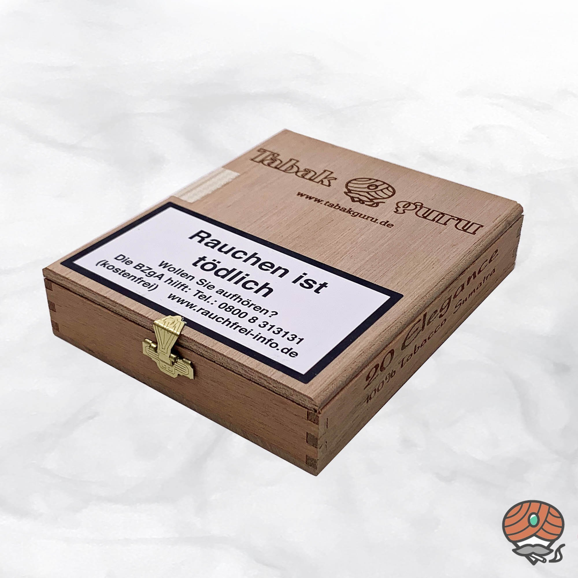 20 Tabakguru Elegance Sumatra Zigarren 100 % Tabak