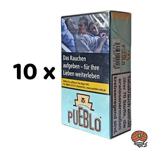 1 Stange Pueblo Blue Filterzigaretten ohne Zusätze 10x20 Stück