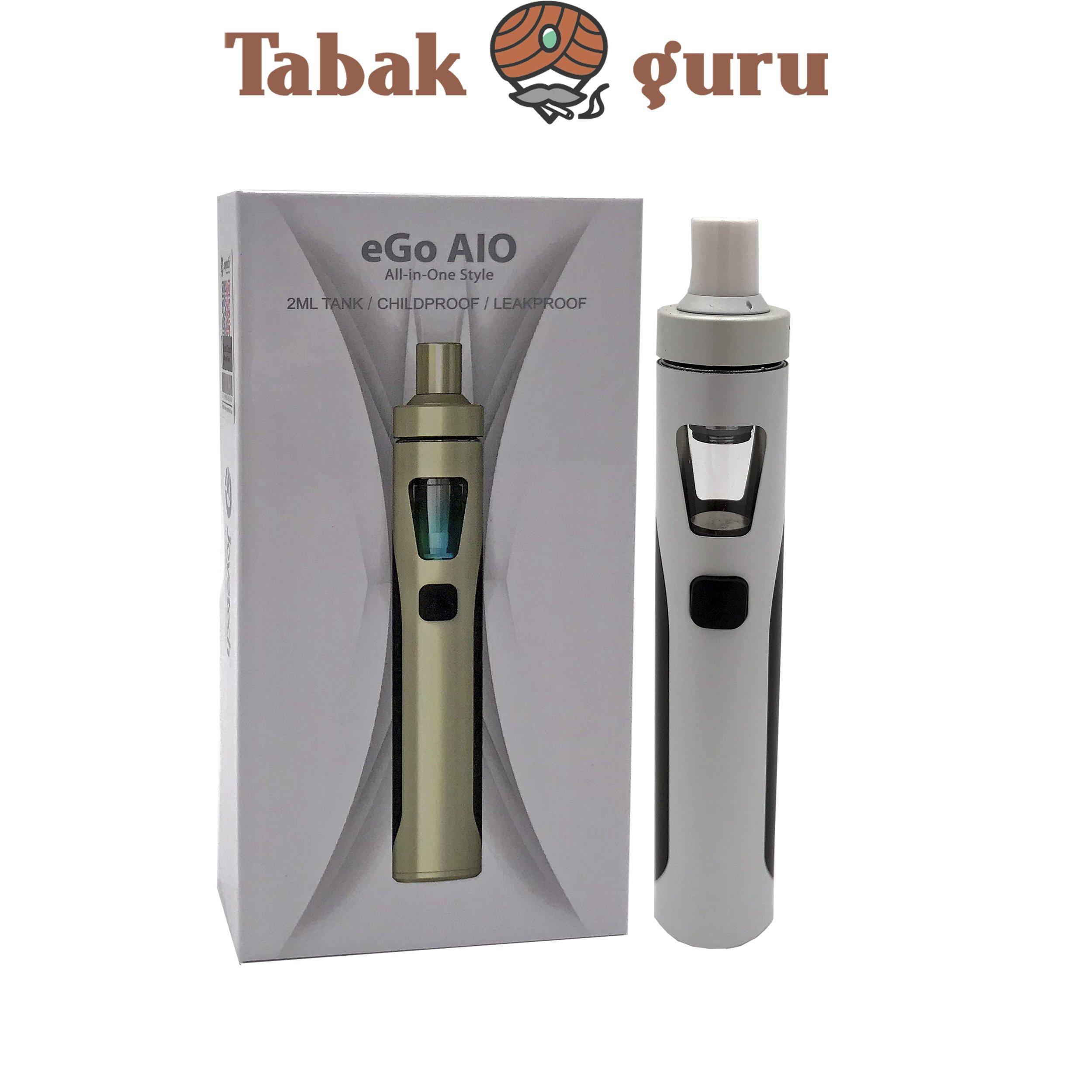 Joyetech eGo AlO All-in-One Style E-Zigarette Weiß/Schwarz
