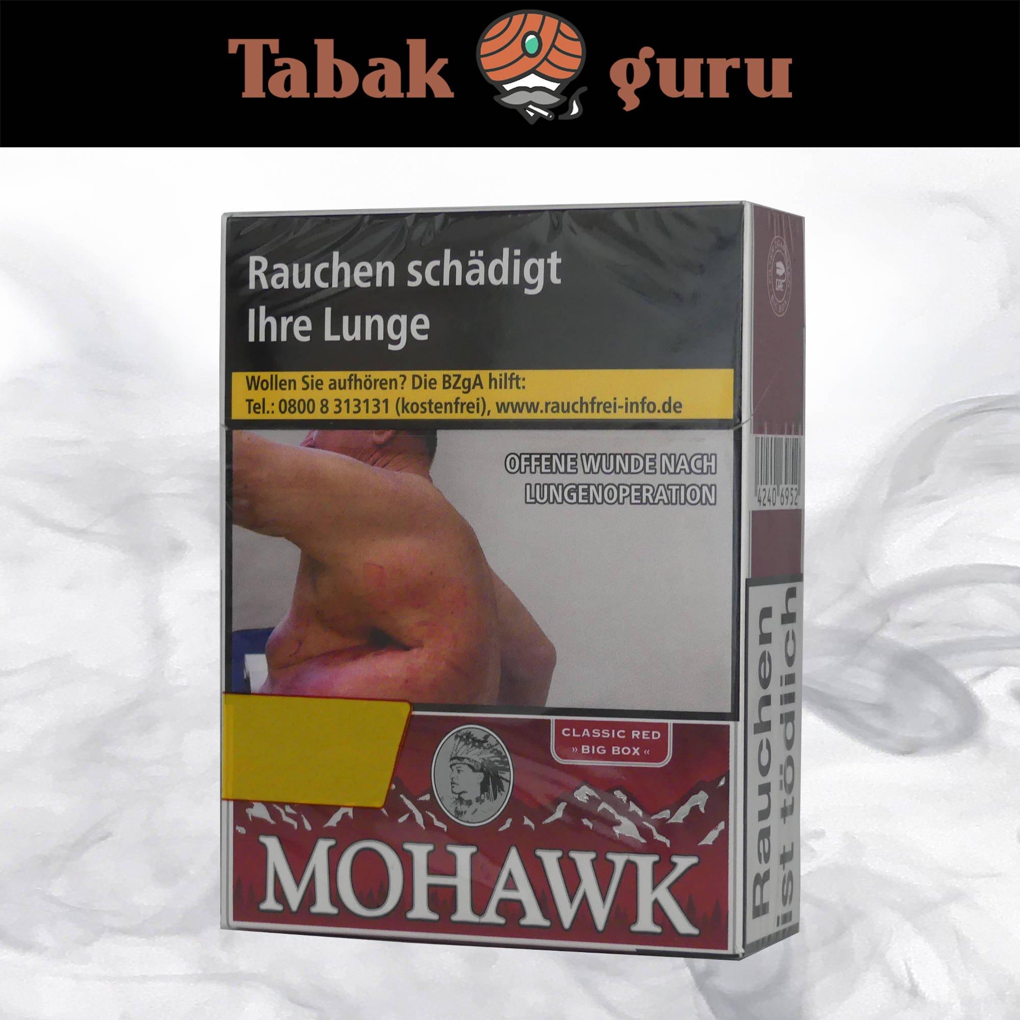 Mohawk Classic Red Filterzigaretten Big Box