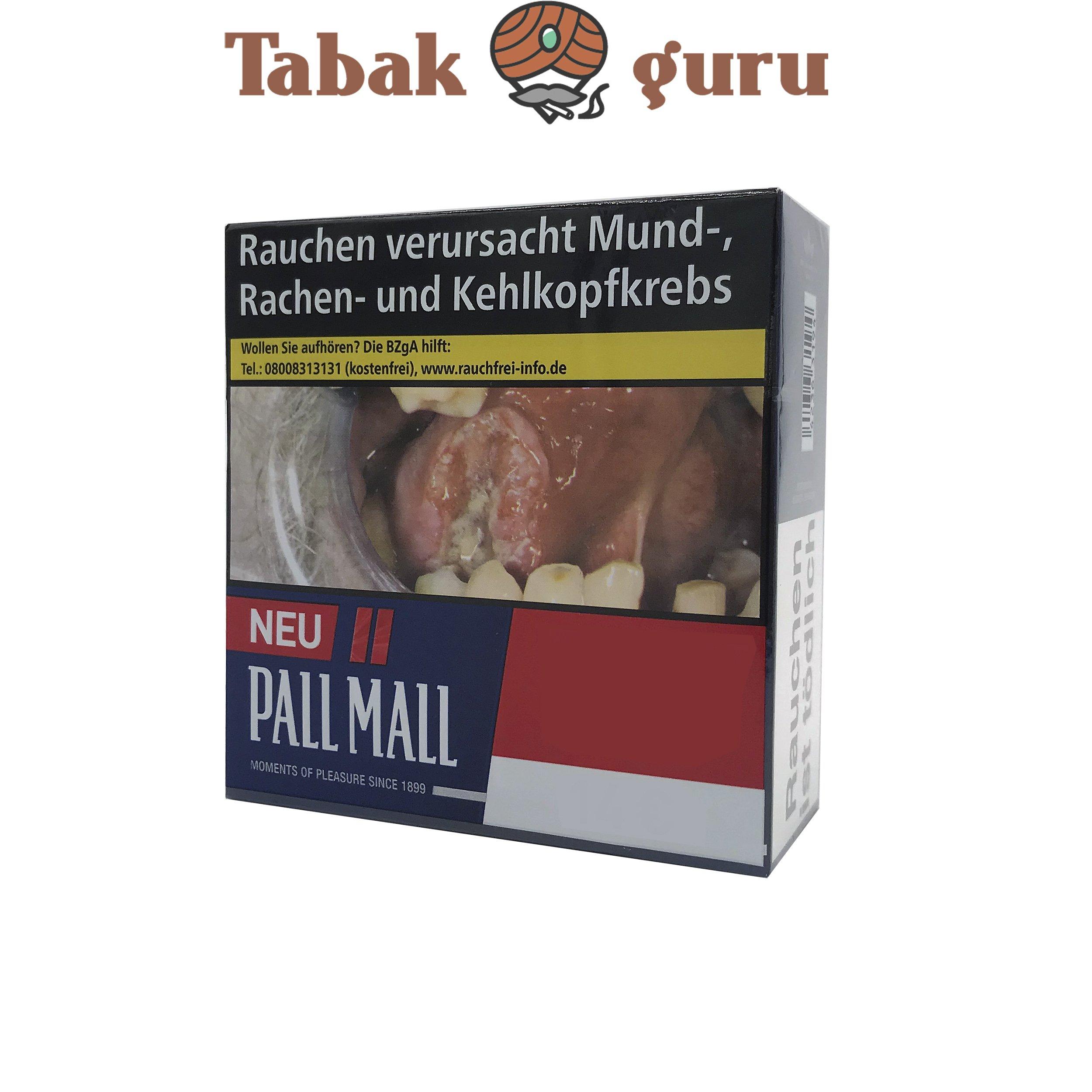 Pall Mall Red / Rot Jumbo (50 Stück)