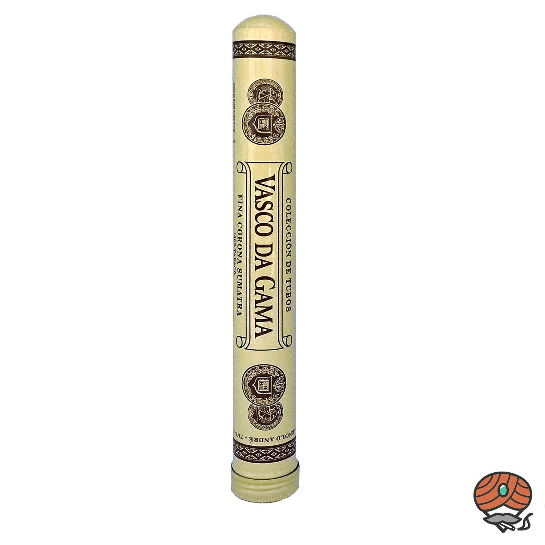 Vasco da Gama Fina Corona Sumatra Tubos 100% Tabak