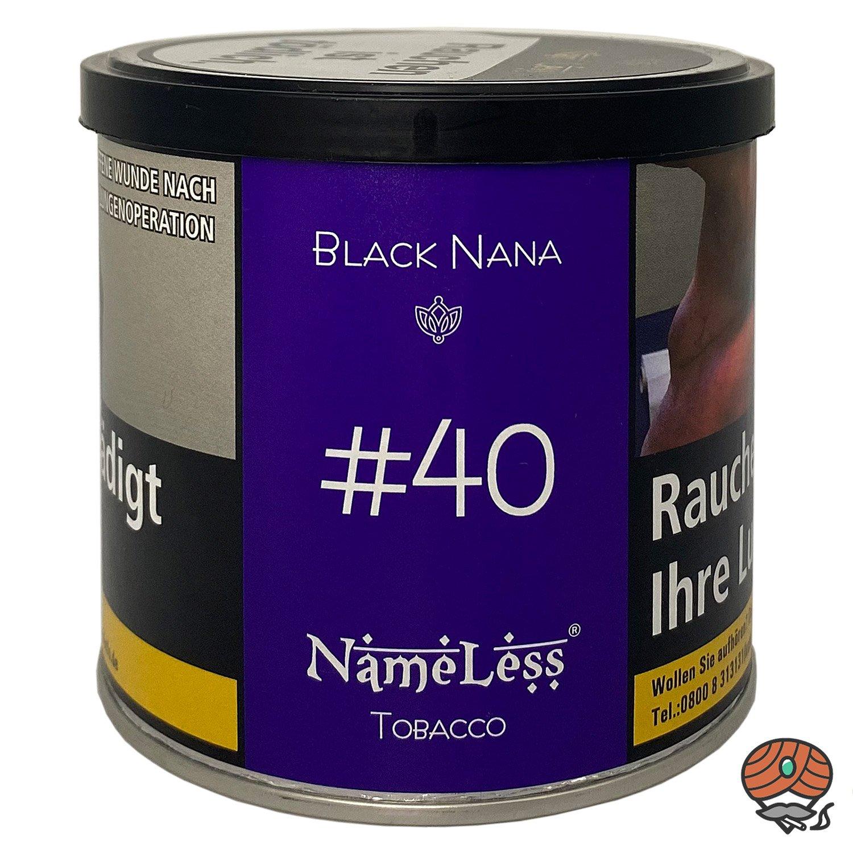 NameLess Black Nana - #40 - 200 g Shisha Tabak