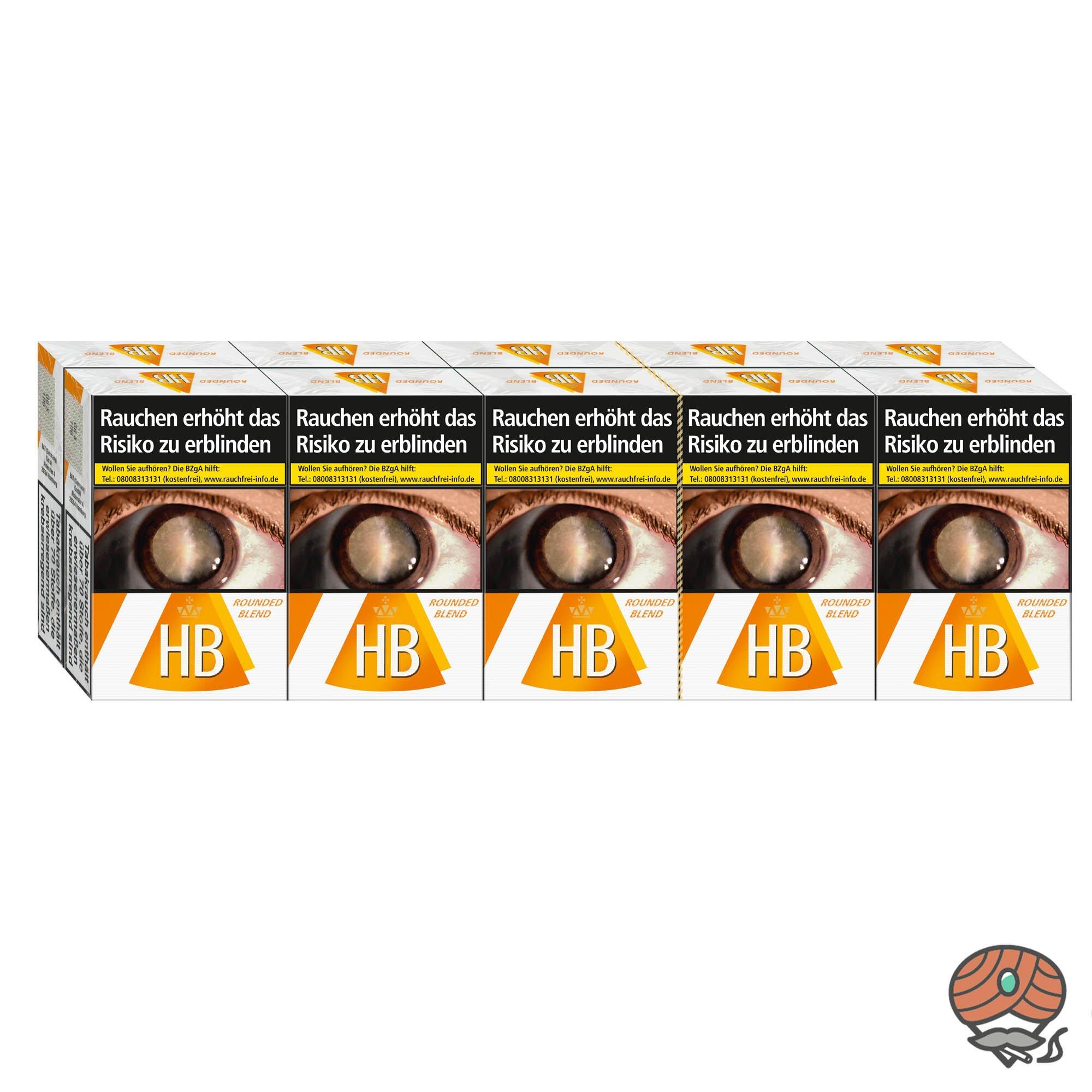Stange HB Rounded Blend Zigaretten 10x20 Stück