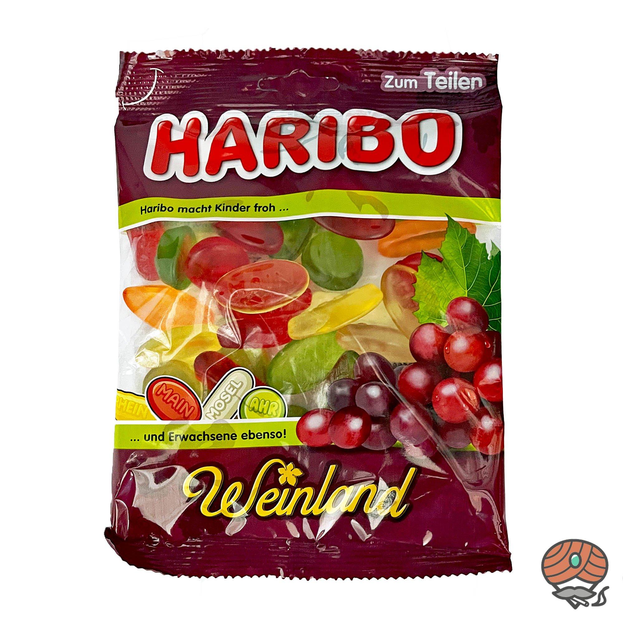 Haribo Weinland Fruchtgummis 200g