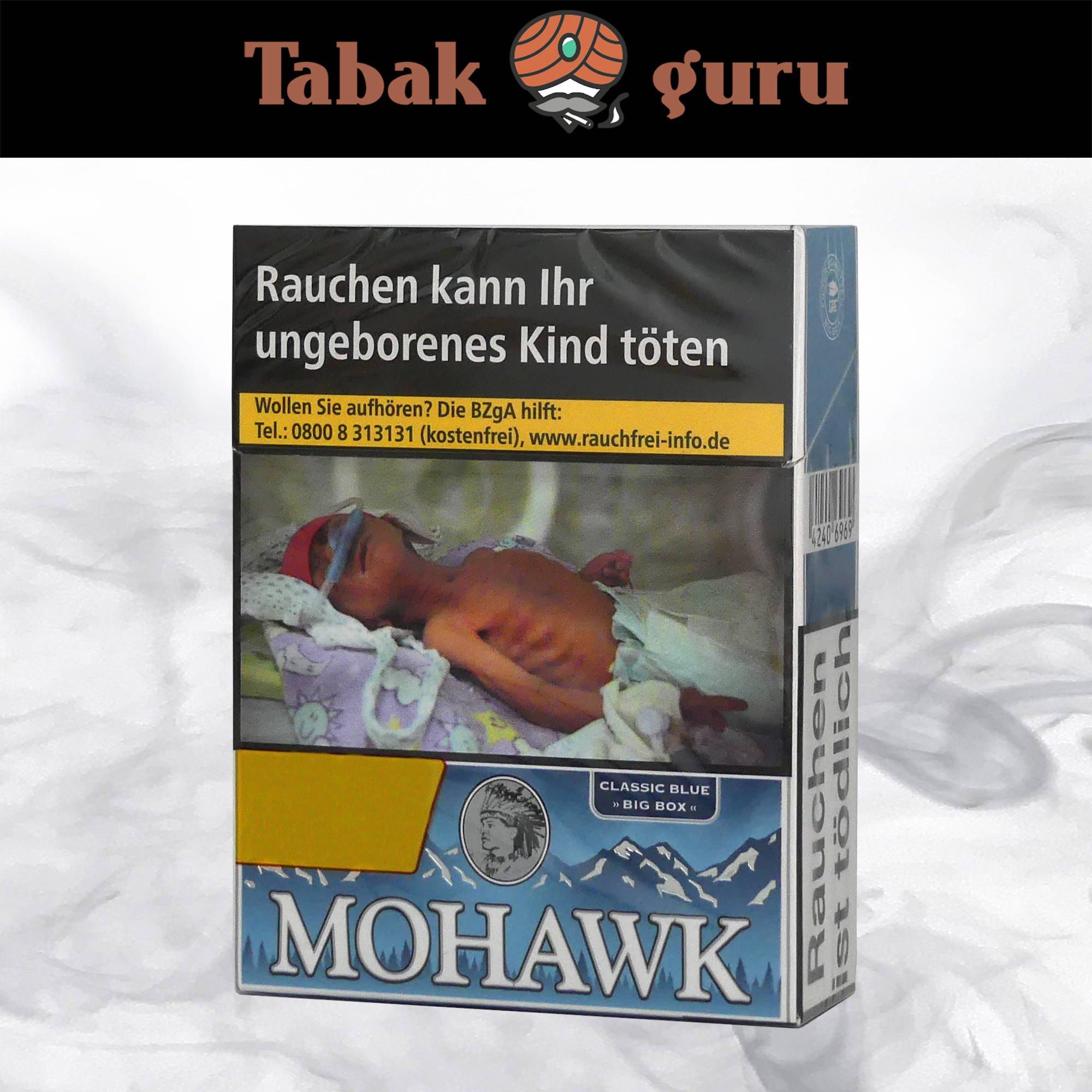 Mohawk Classic Blue Filterzigaretten Big Box