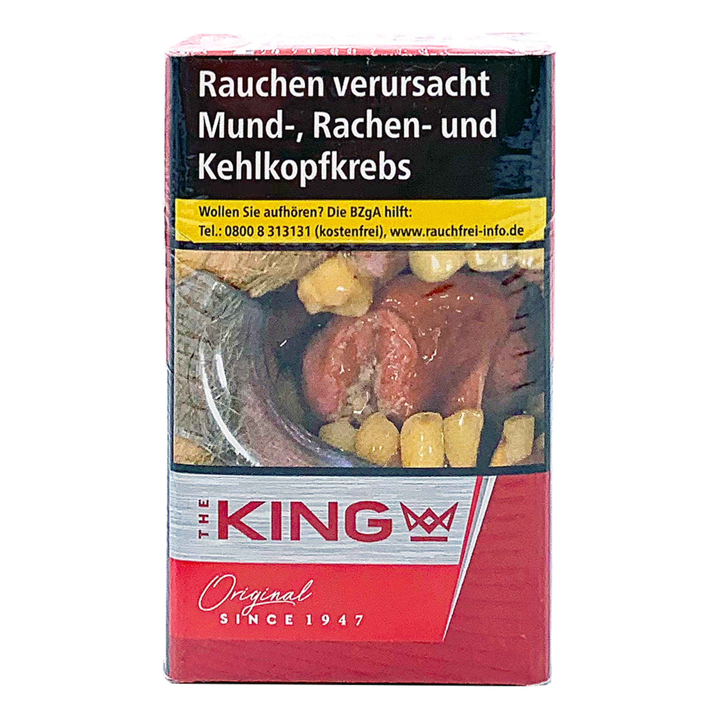 The King Red King Size Zigaretten 20 Stück