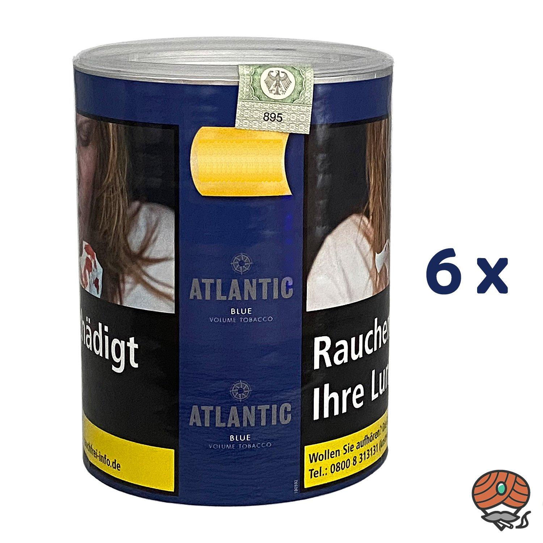 6x ATLANTIC Blue Tabak / Volumentabak Dose à 70 g