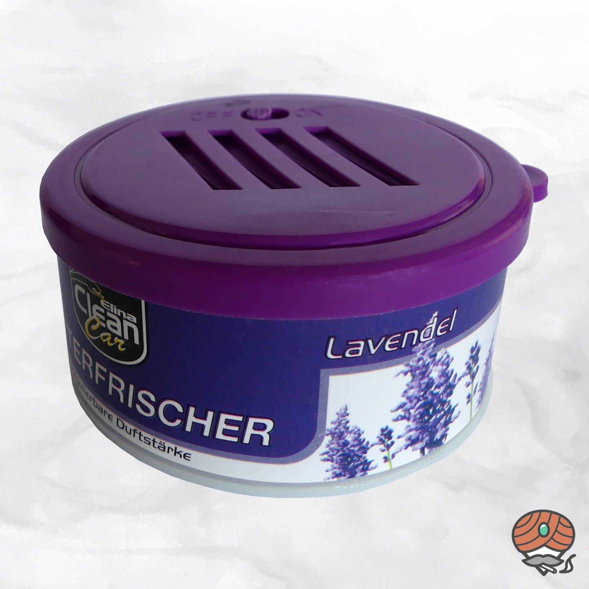 Elina Clean Car Lufterfrischer Lavendel, regulierbare Duftstärke