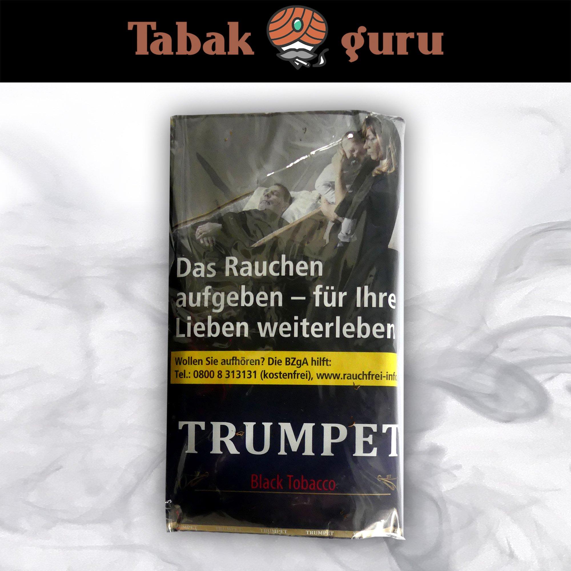 Trumpet Black Tobacco Drehtabak 38 g