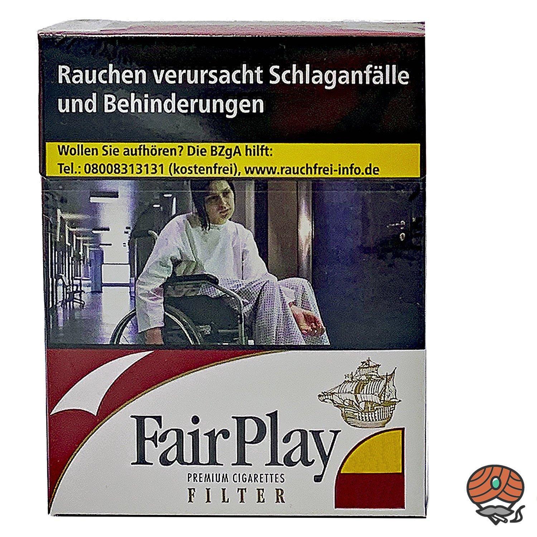Fair Play Filter Zigaretten Big Pack 21 St.