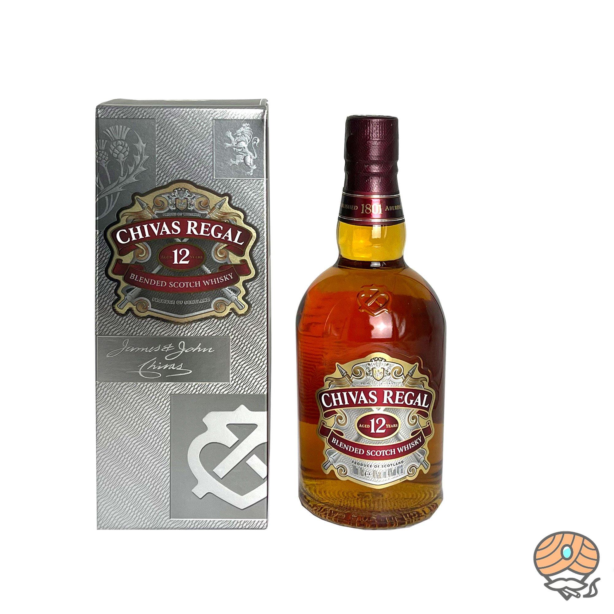 Chivas Regal Blended Whiskey 12 Jahre, 0,7l, alc. 40 Vol.-%