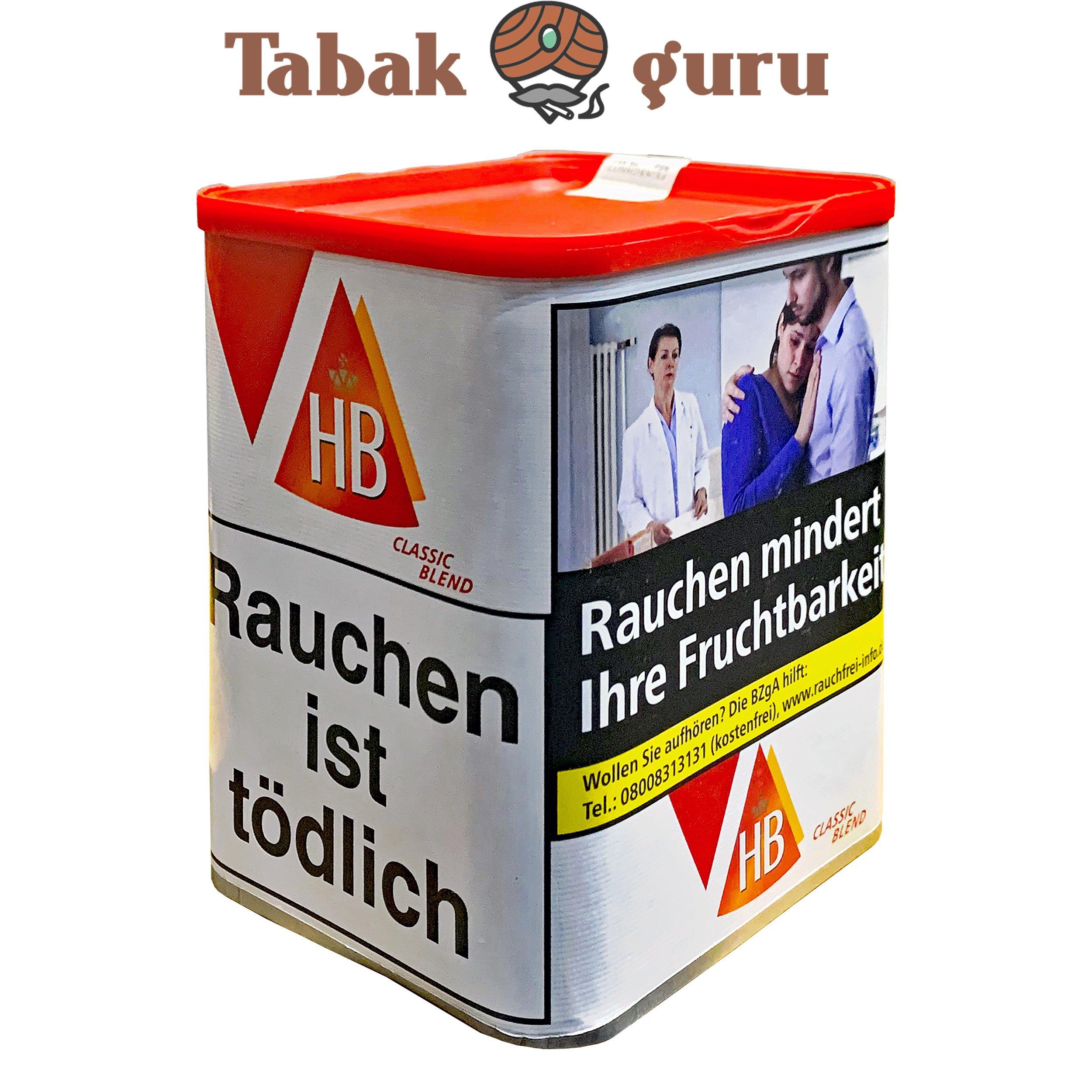 HB Quality Blend / Classic Blend Zigarettentabak 85 g Dose
