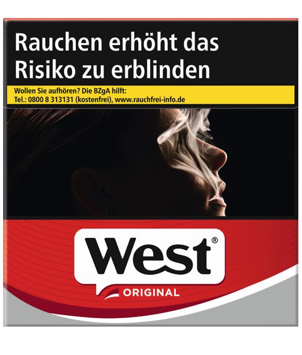 West Original / Red Zigaretten à 50 Stück