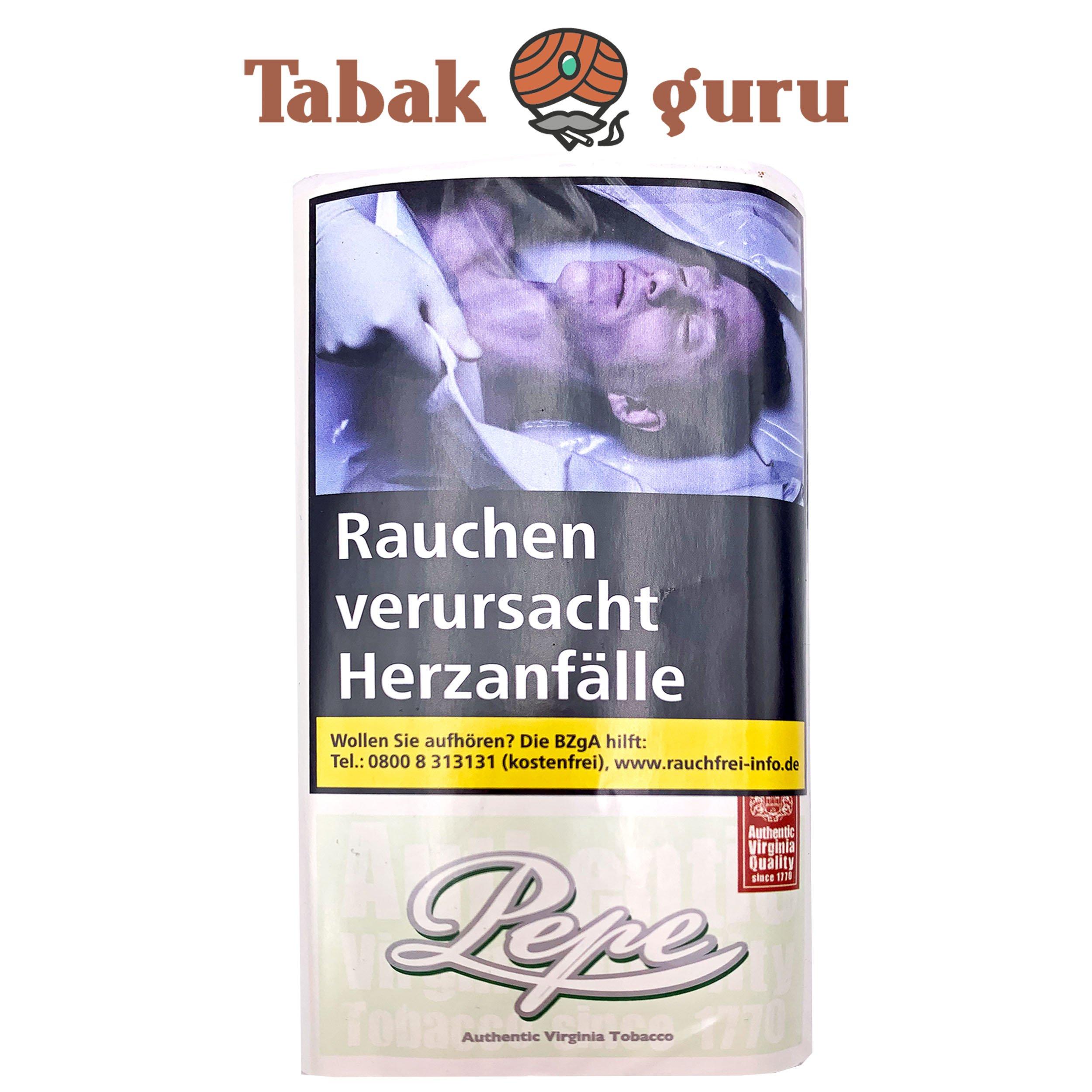 Pepe Fine Green 30g Drehtabak Zigarettentabak