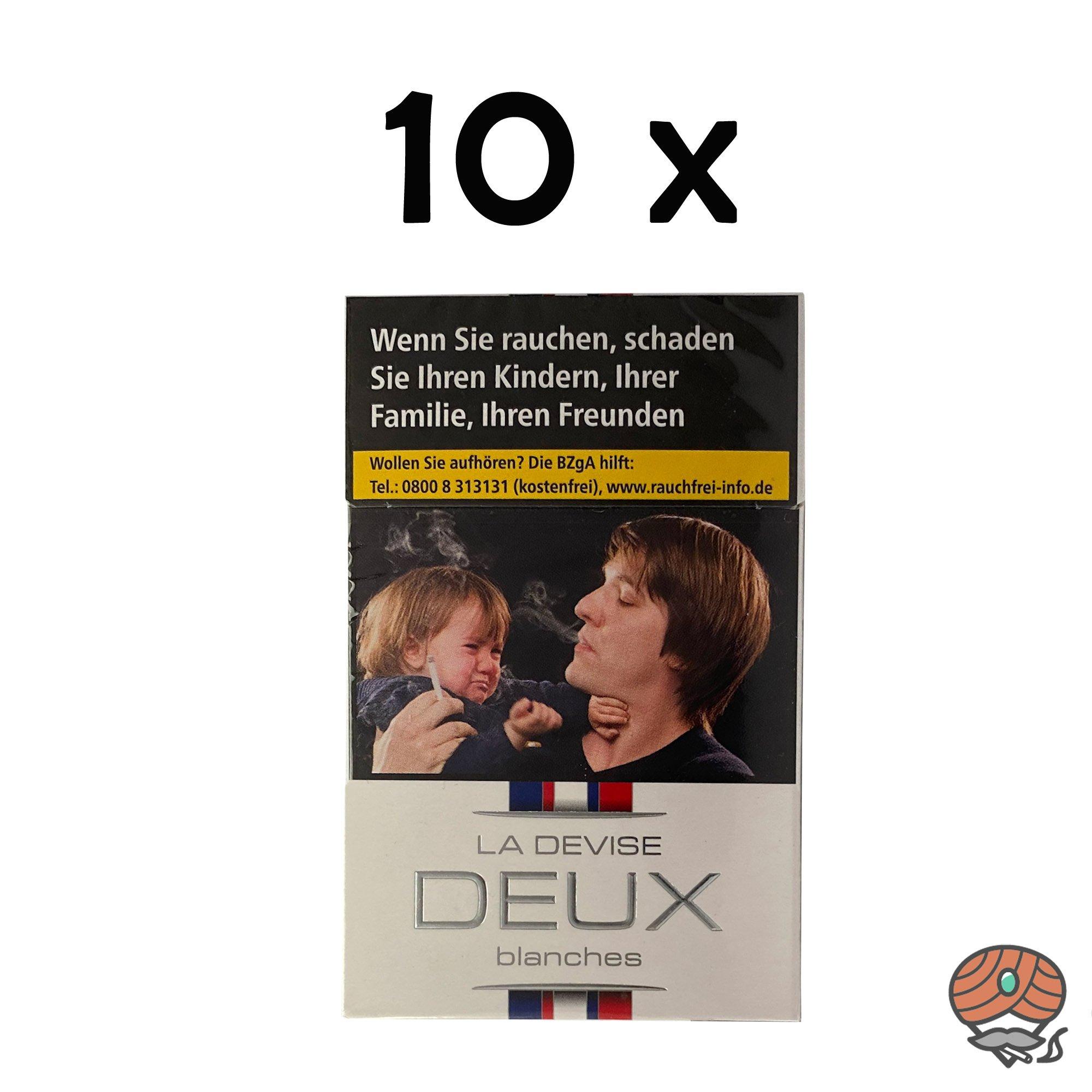 Stange La Devise Deux blanches - Égalité Zigaretten